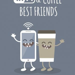 wifi & coffee best friends